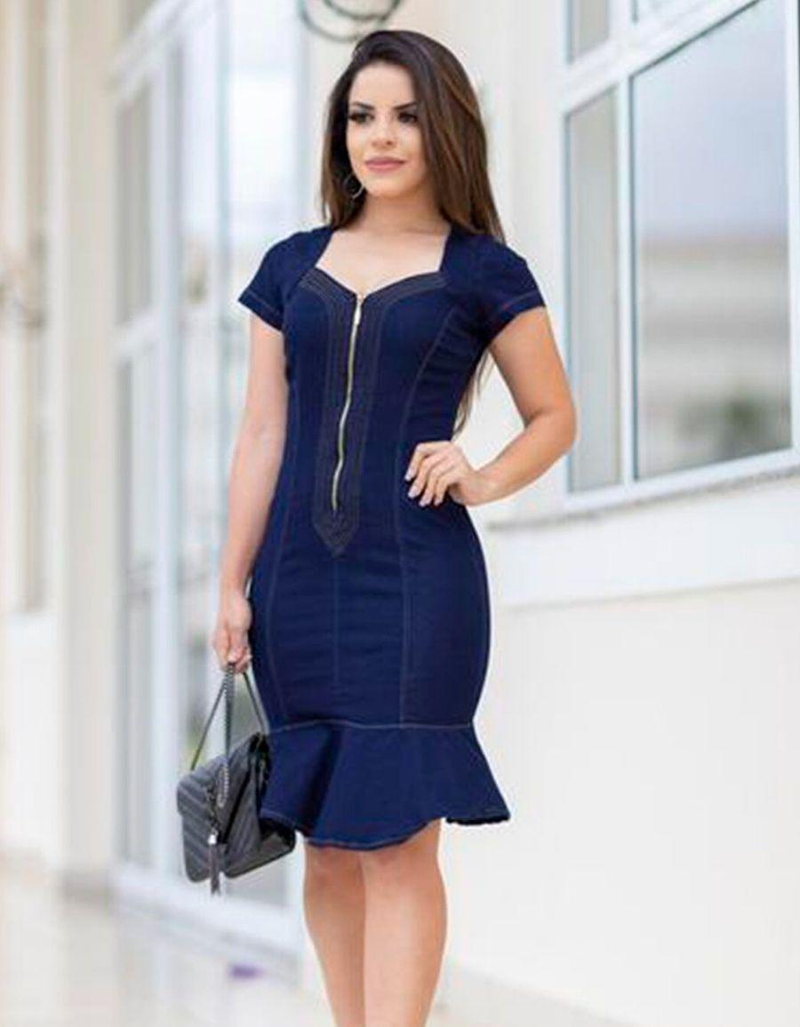 Vestido Jeans curto - Gabriela
