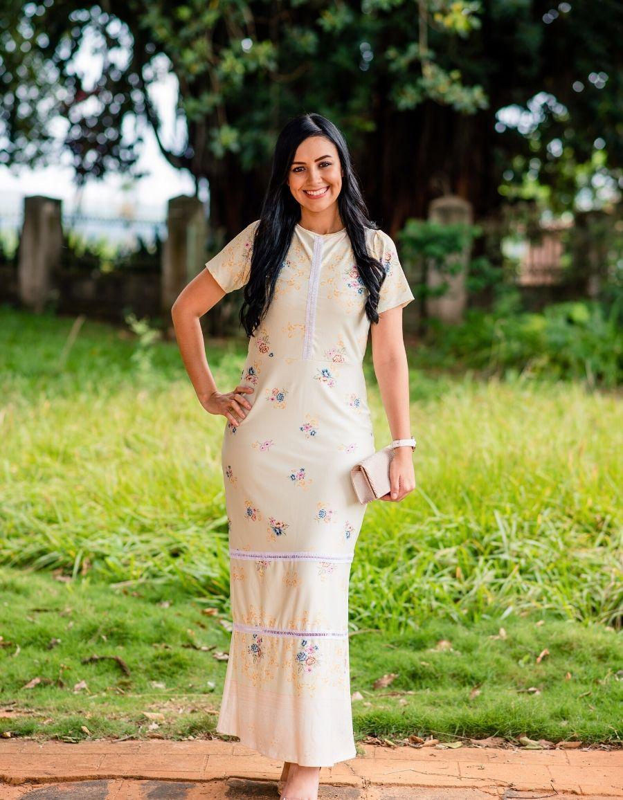 Vestido Longo - Isabela