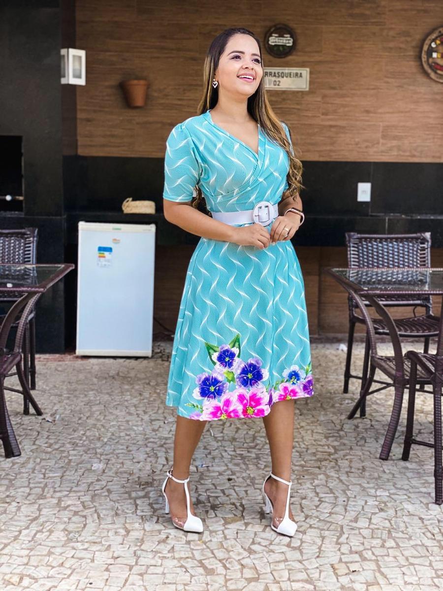 Vestido Transpassado - Janaína