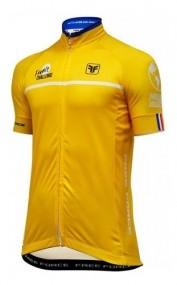 Camisa Ciclismo Free Force Tour  Amarela Masculina