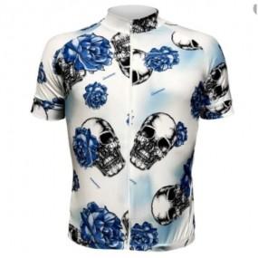 Camisa manga curta masculina Lacarrera La Caveira Blue