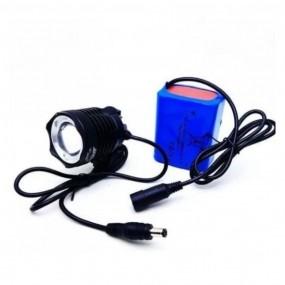 Farol Lanterna Cree T6