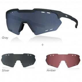 Óculos de ciclismo HB KIT Shield Compact Road