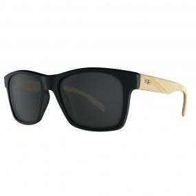 Óculos de sol HB Unafraid Preto/Madeira Polarizado