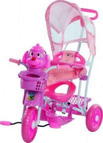 Triciclo Bel Rosa 3 em 1