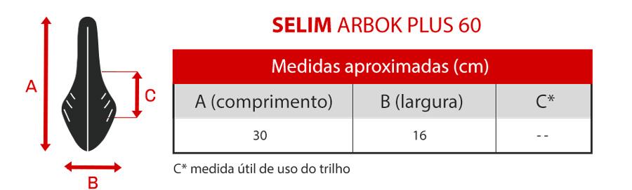 Banco Selim Arbok Plus 60°