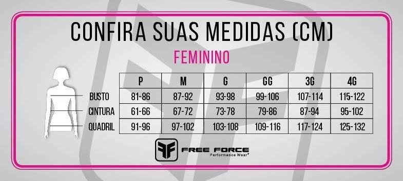 Camisa Ciclismo Feminina Free Force Sugar