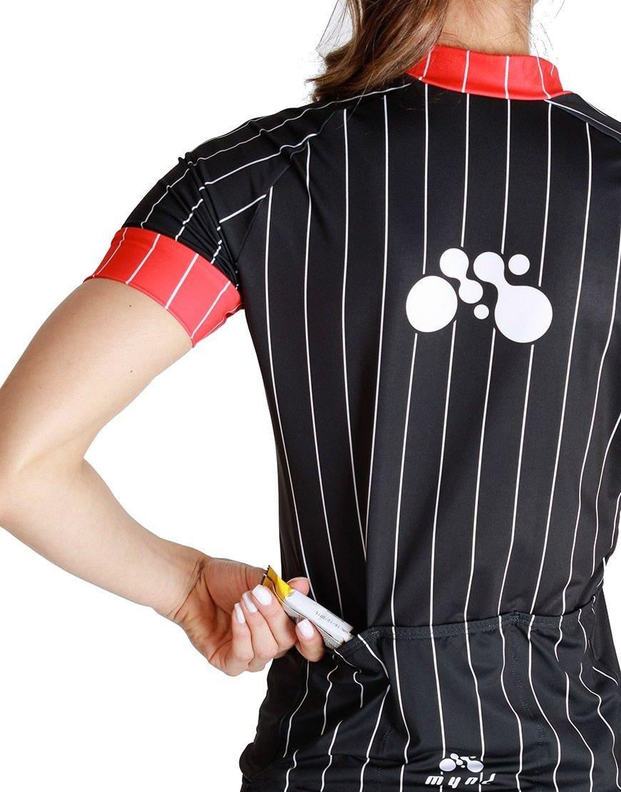 Camisa Ciclismo Feminina Mynd Preta