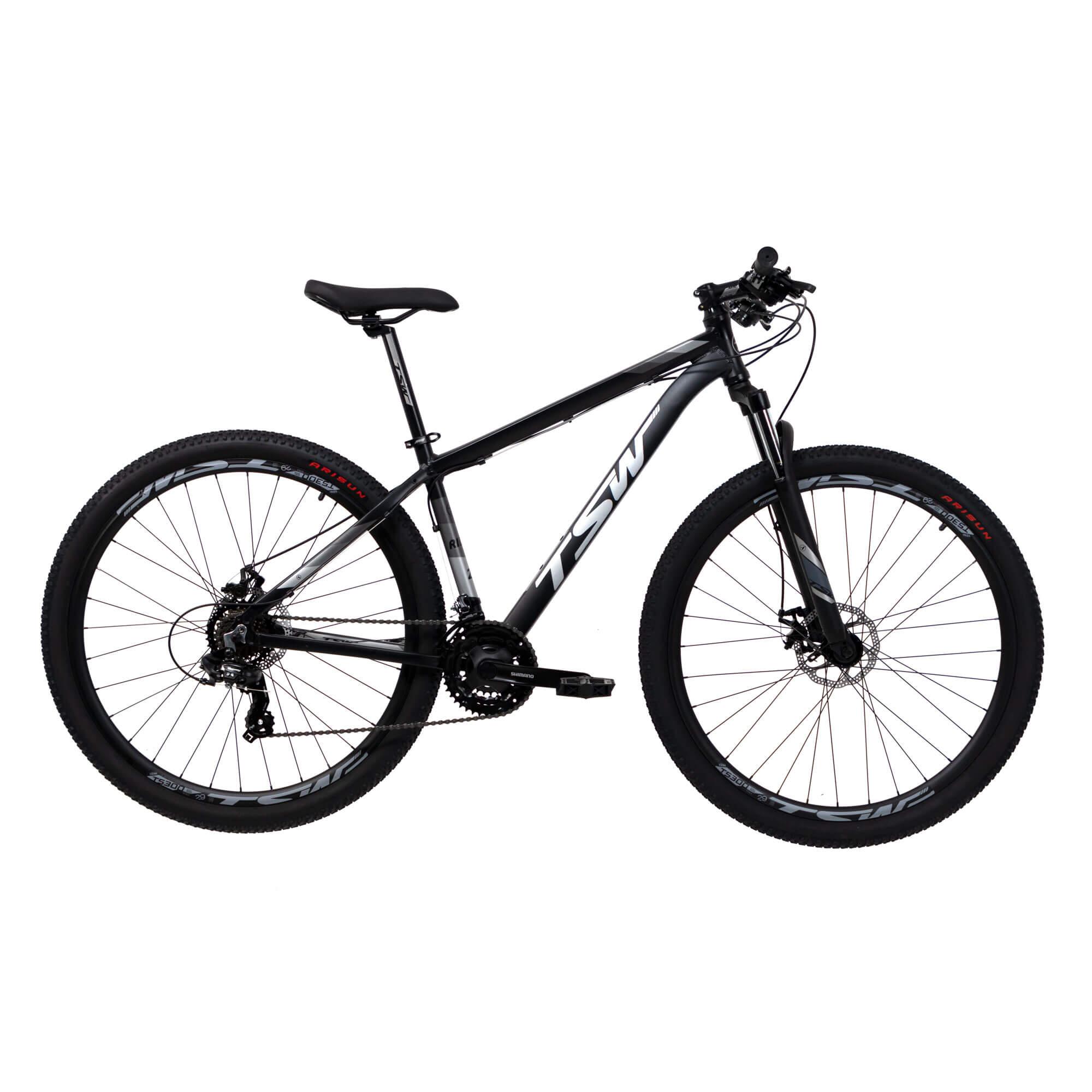 """TSW Ride 2019 29 Preta/Cinza Tam. 17"""""""
