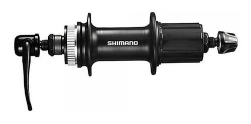 Cubo Shimano TX505 Center Lock Disco Alumínio Preto Cassete 8, 9, 10 e 11v (PAR)