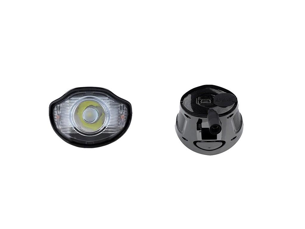 Farol 300 Lumens / Ciclocomputador / Buzina H1714 Usb