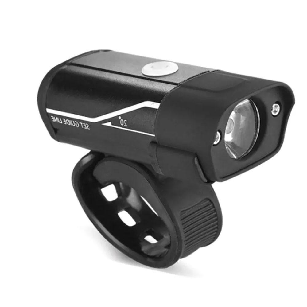 Farol Bicycle Light 400 Lúmens - USB