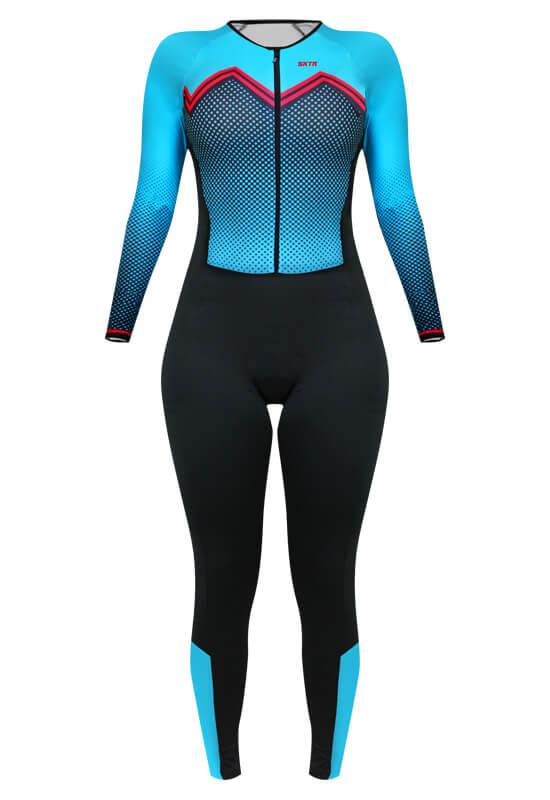 Macacão Ciclismo Feminino Comfort SportXtreme Bianchi