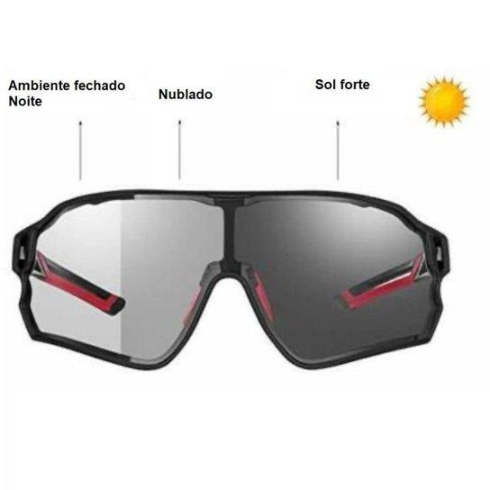 Óculos Fotocromático Polarizado RockBros Lente c/ Armação