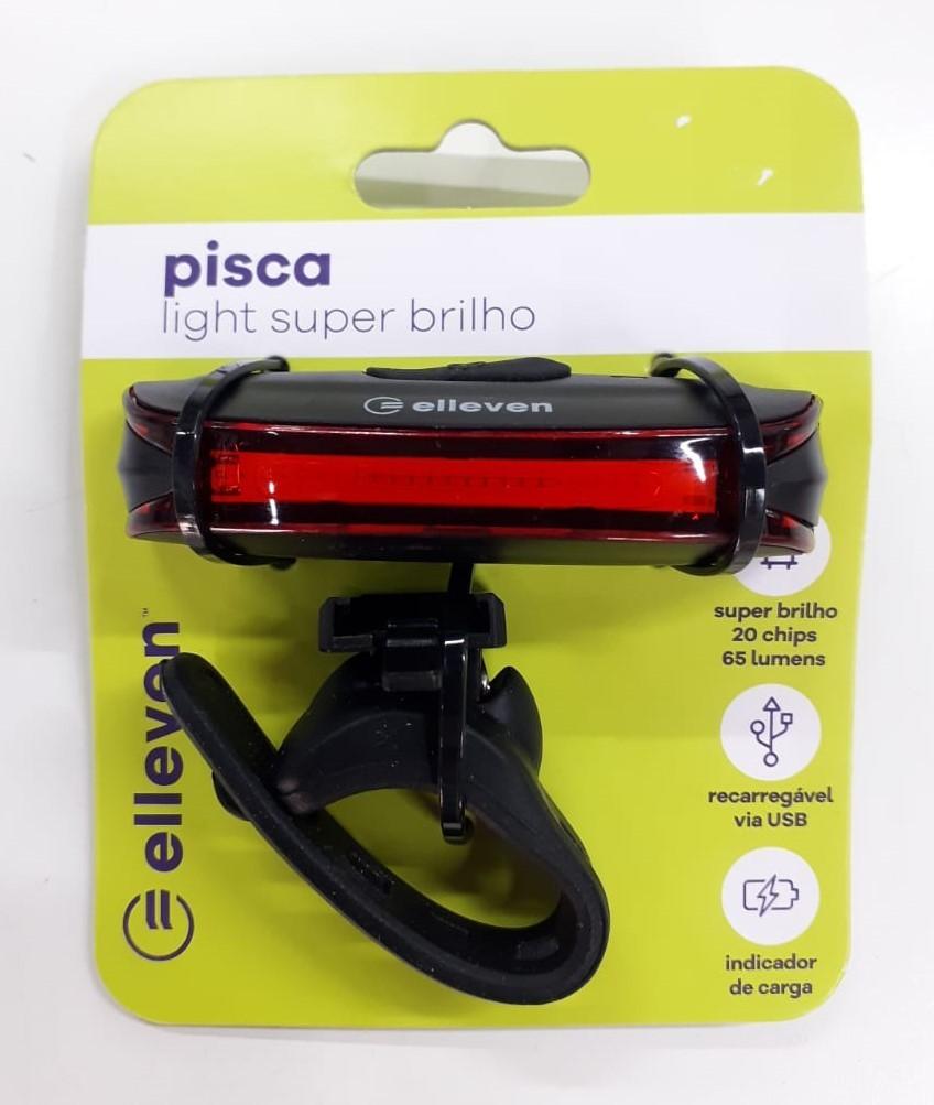 Pisca Light Super Brilho Elleven 3 funções 20 Chips 65 Lumens