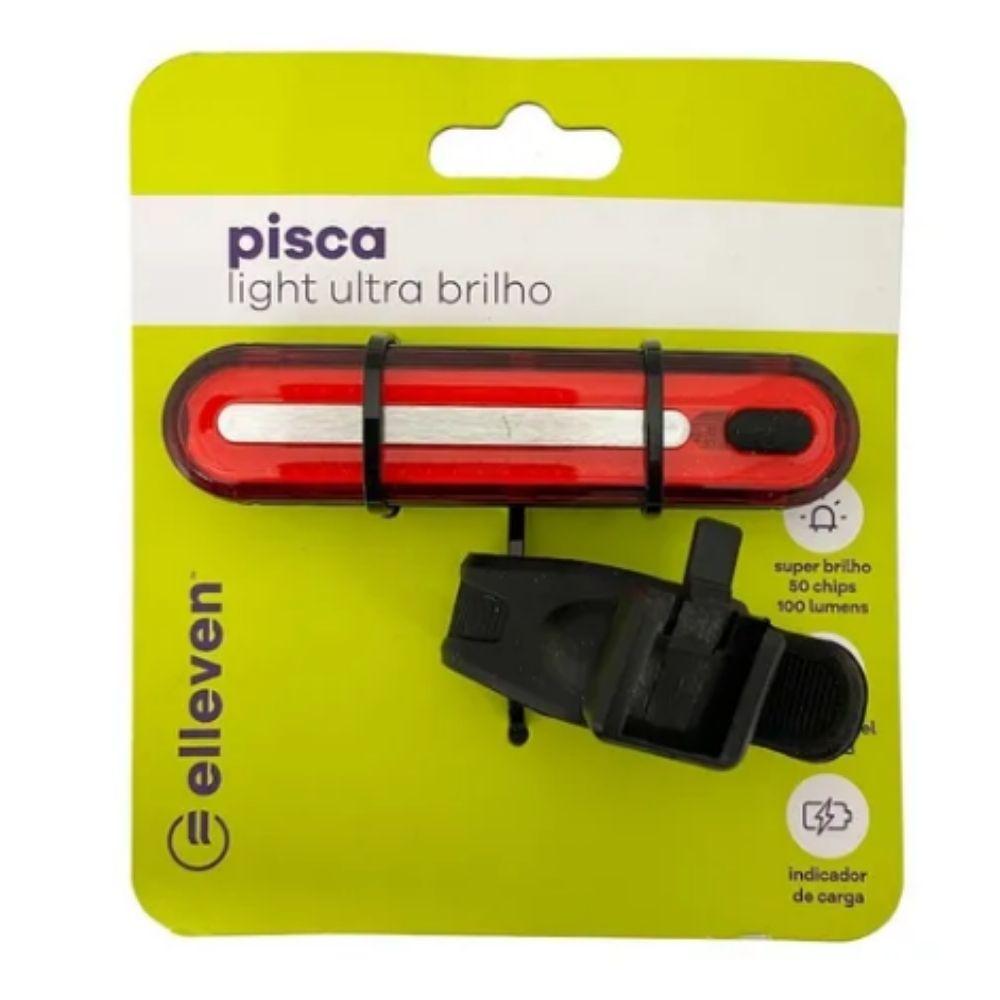 Pisca Light Ultra Brilho Elleven 4 funções 50 Chips 100 Lumens