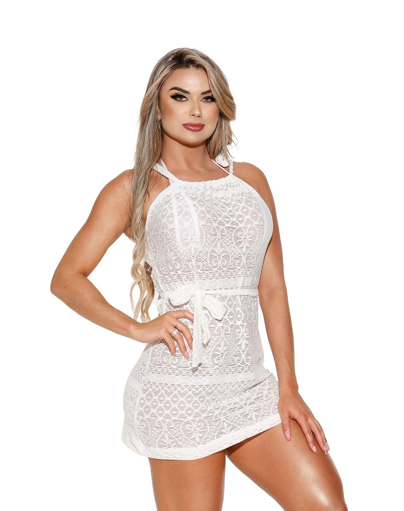 Vestido VES-3 Malha Branca
