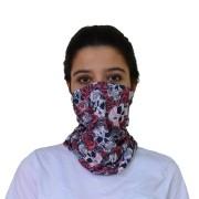 Bandana Tubular - Rosas