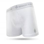 Cueca Boxer em Algodão Supremo - Branca