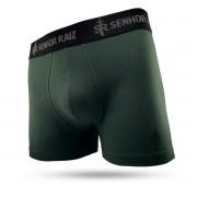 Cueca Boxer em Algodão Supremo - Verde Militar