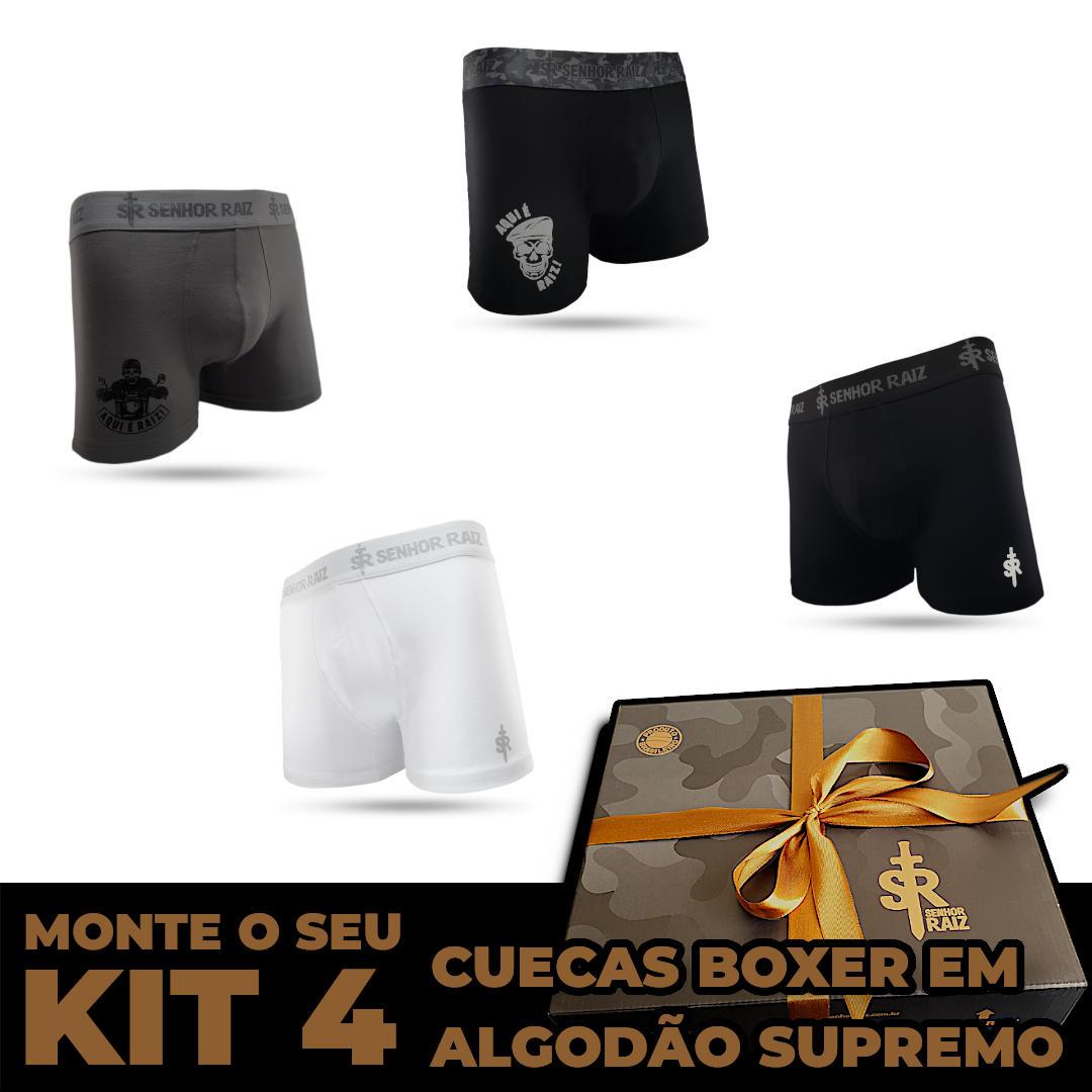 4 Cuecas - Kit LEVE 4, PAGUE 3
