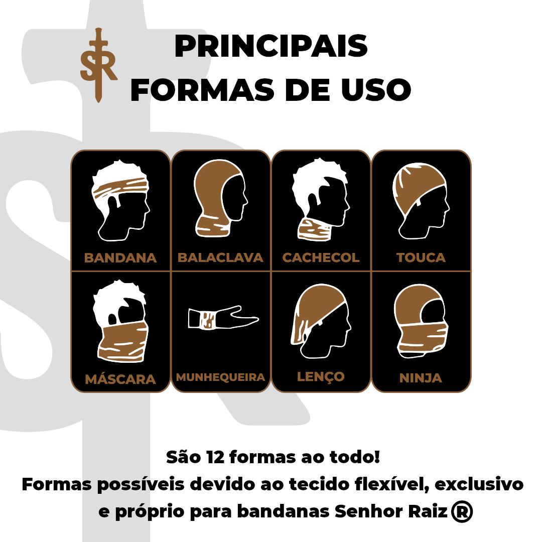Bandana Tubular - Caveira&Asas