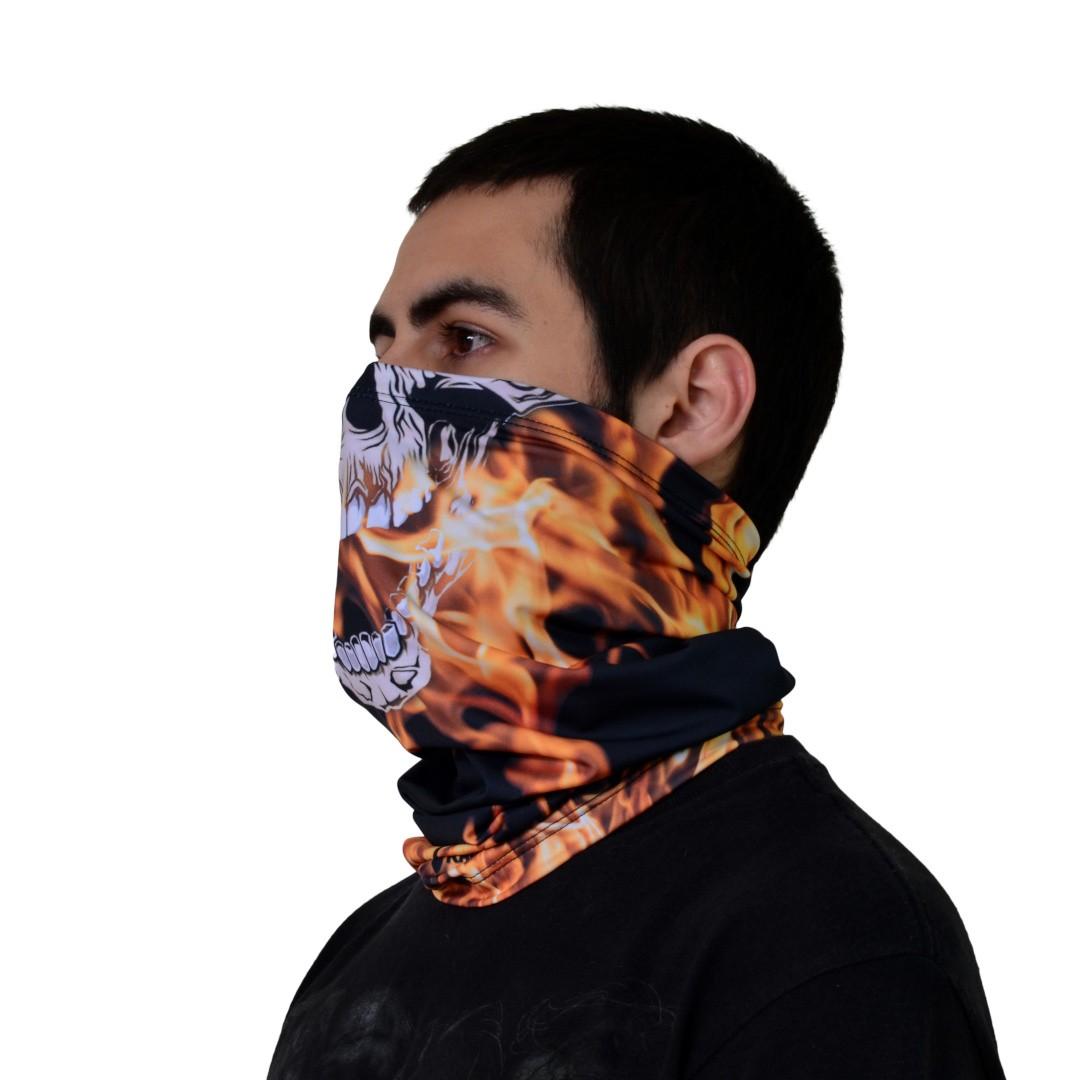 Bandana Tubular - Fantasma