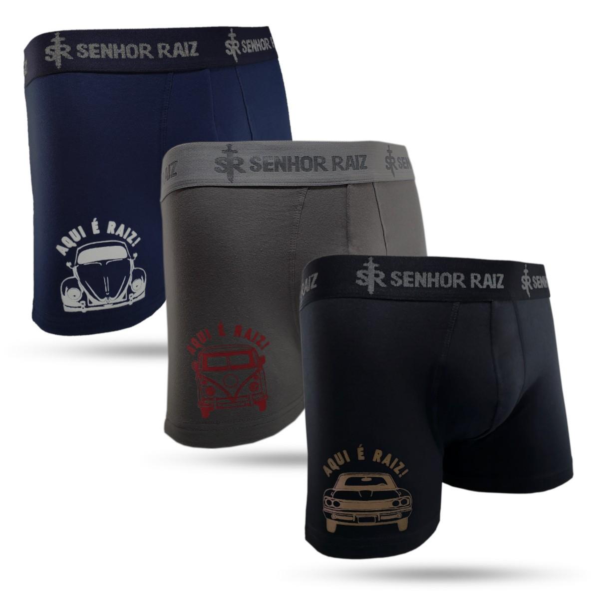 Kit Cuecas Boxer Temáticas - Carros