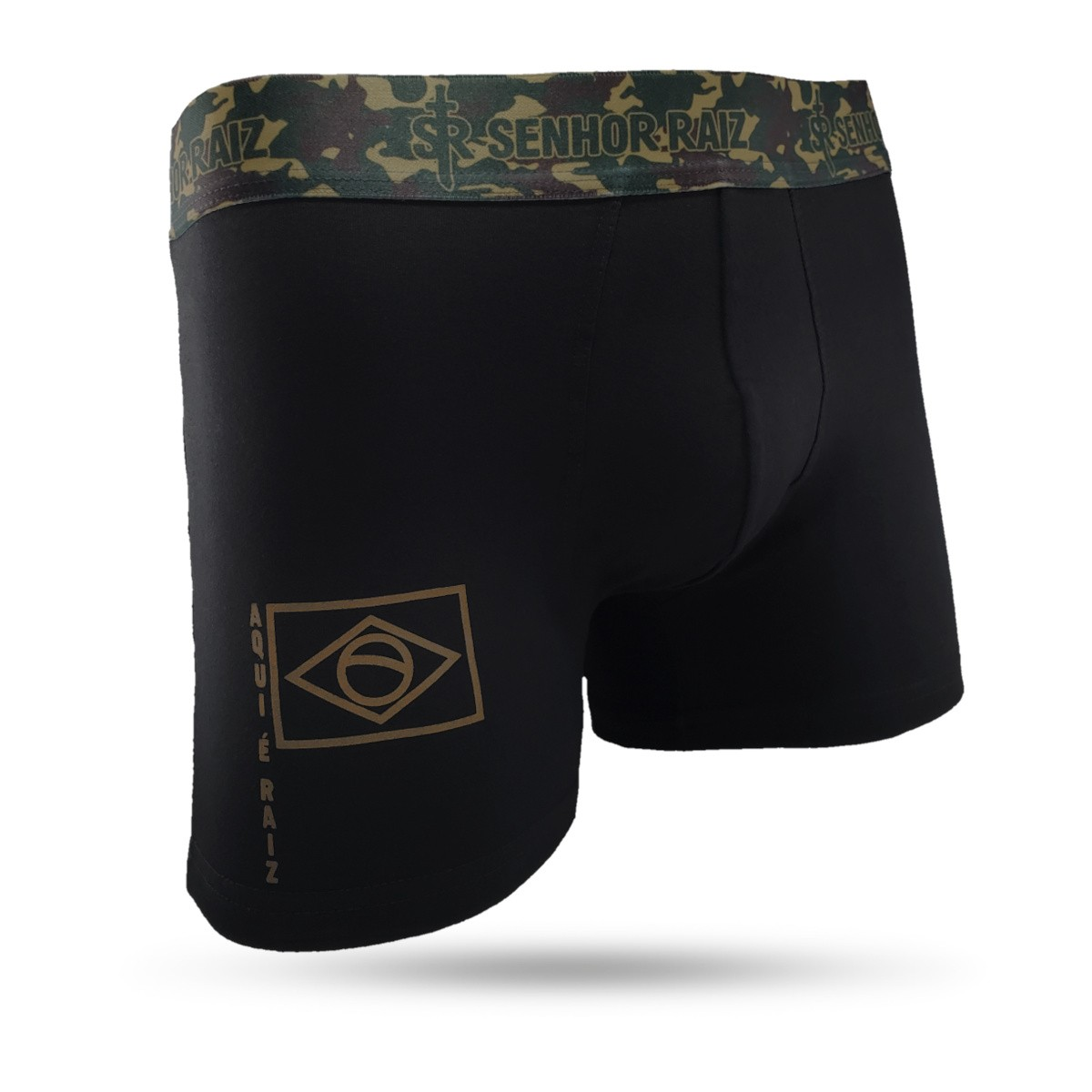 Kit Cuecas Boxer Temáticas - Militar