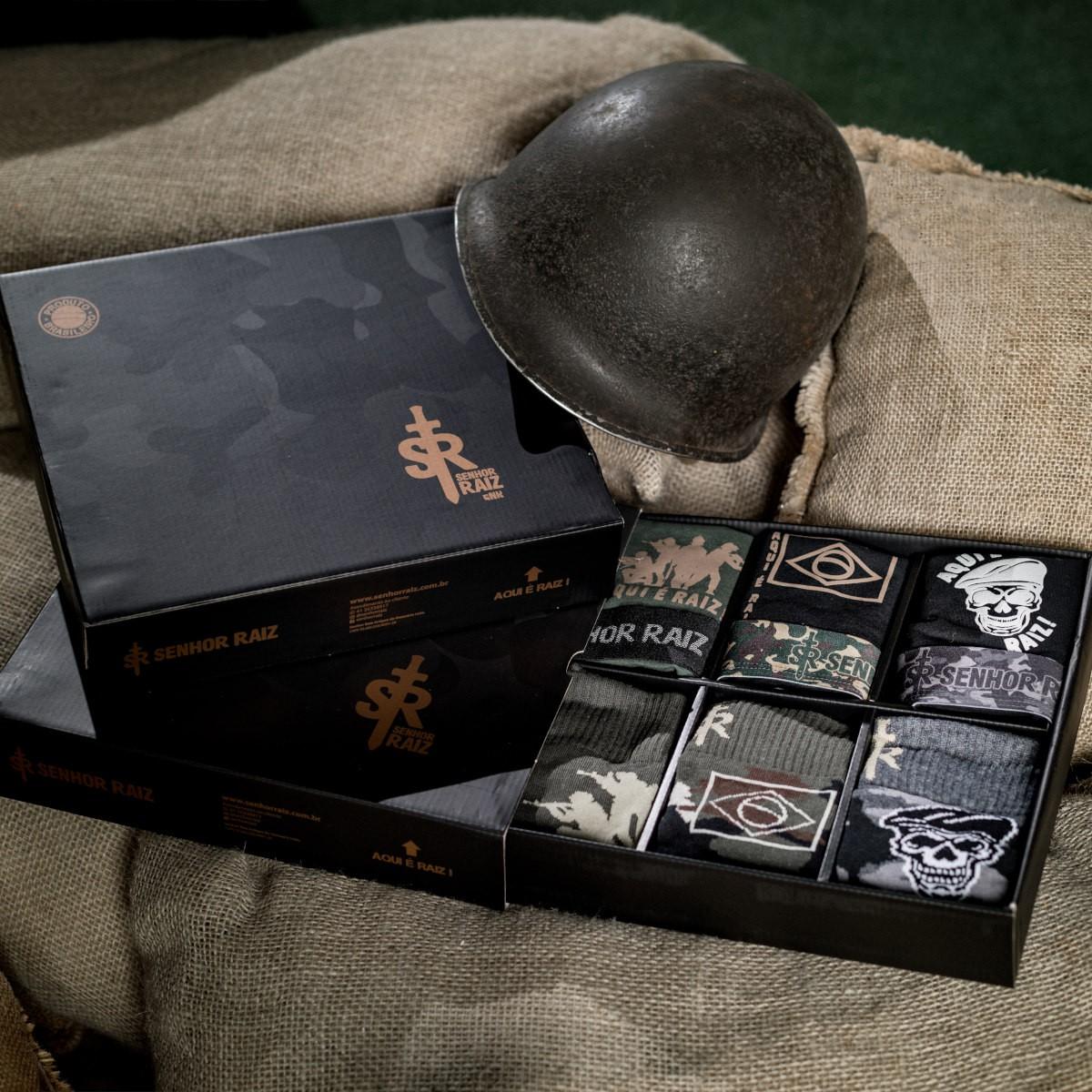 Kit Temático Completo - Militar