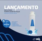 Refil para purificador de água gelada aplicável a diversas marcas, com 5 estágios de filtração