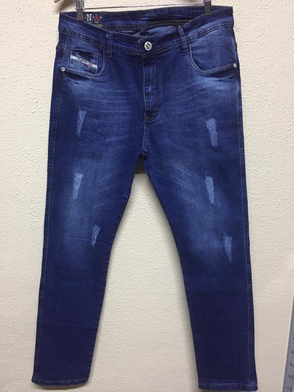 Calça Masculina Empório Armani Jeans Lisa - Jeans