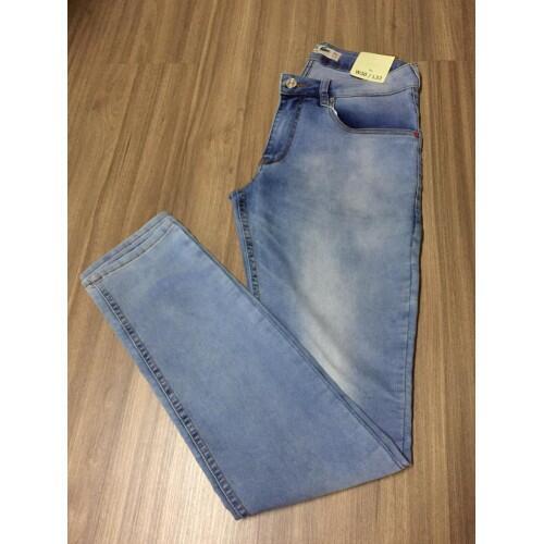 Calça Masculina Lacoste Jeans Lisa - Jeans Claro