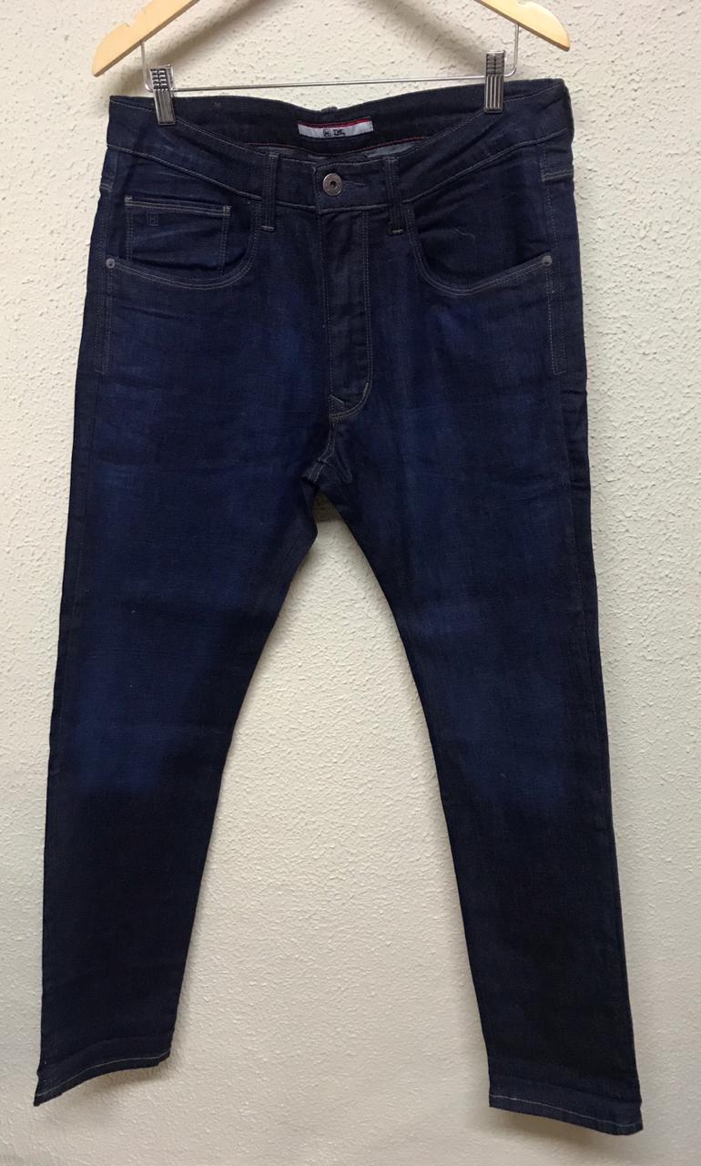 Calça Masculina Txc Denim Slim Black Jeans Lisa - Jeans Escuro