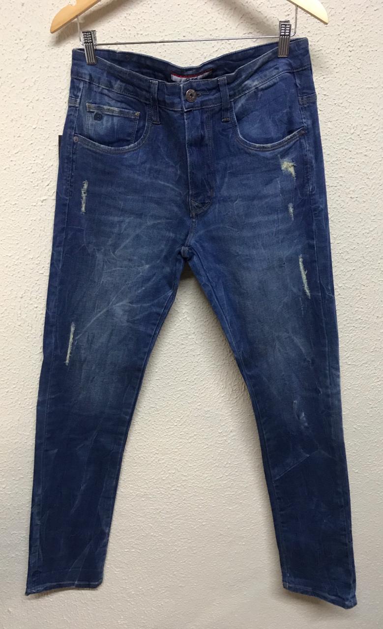 Calça Masculina Txc Denim Slim Light Jeans Lisa - Jeans