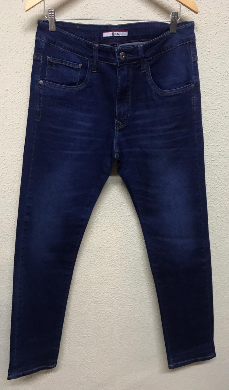 Calça Masculina Txc Denim Slim Used Jeans Lisa - Jeans Escuro