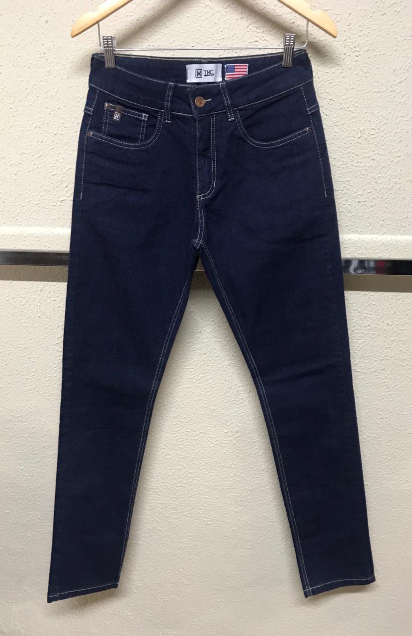 Calça Masculina Txc Regular Jeans Lisa - Jeans Escuro