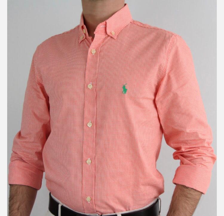 Camisa Ralph Lauren Xadrez Vermelho e Branco