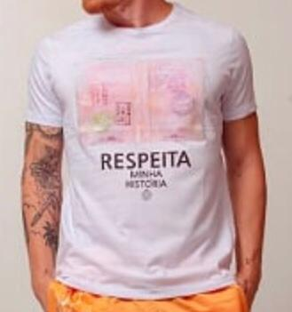 Camiseta Masculina Tflow Branca