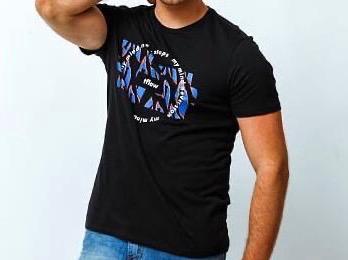 Camiseta Masculina Tflow My Mind Algodão Estampada - Preto