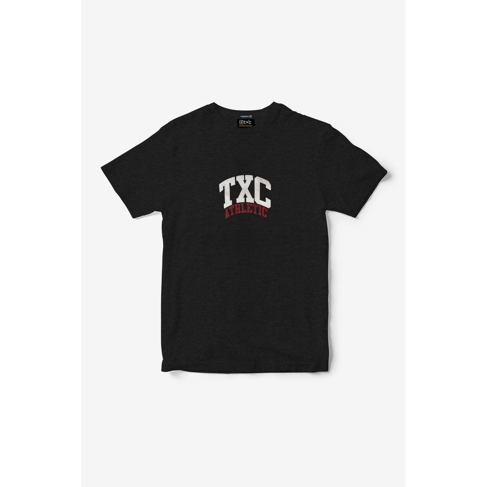Camiseta Masculina Txc Algodão Estampada - Cinza Escuro