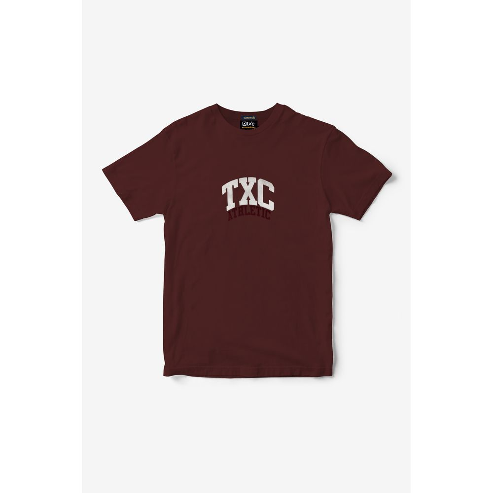 Camiseta Masculina Txc Algodão Lisa - Vinho