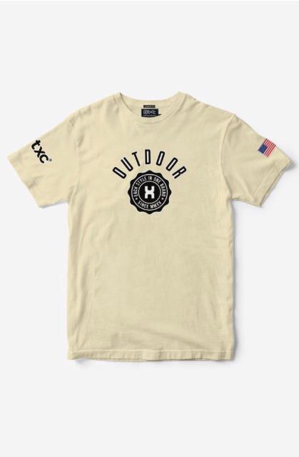 Camiseta Masculina Txc Algodão Lisa - Areia