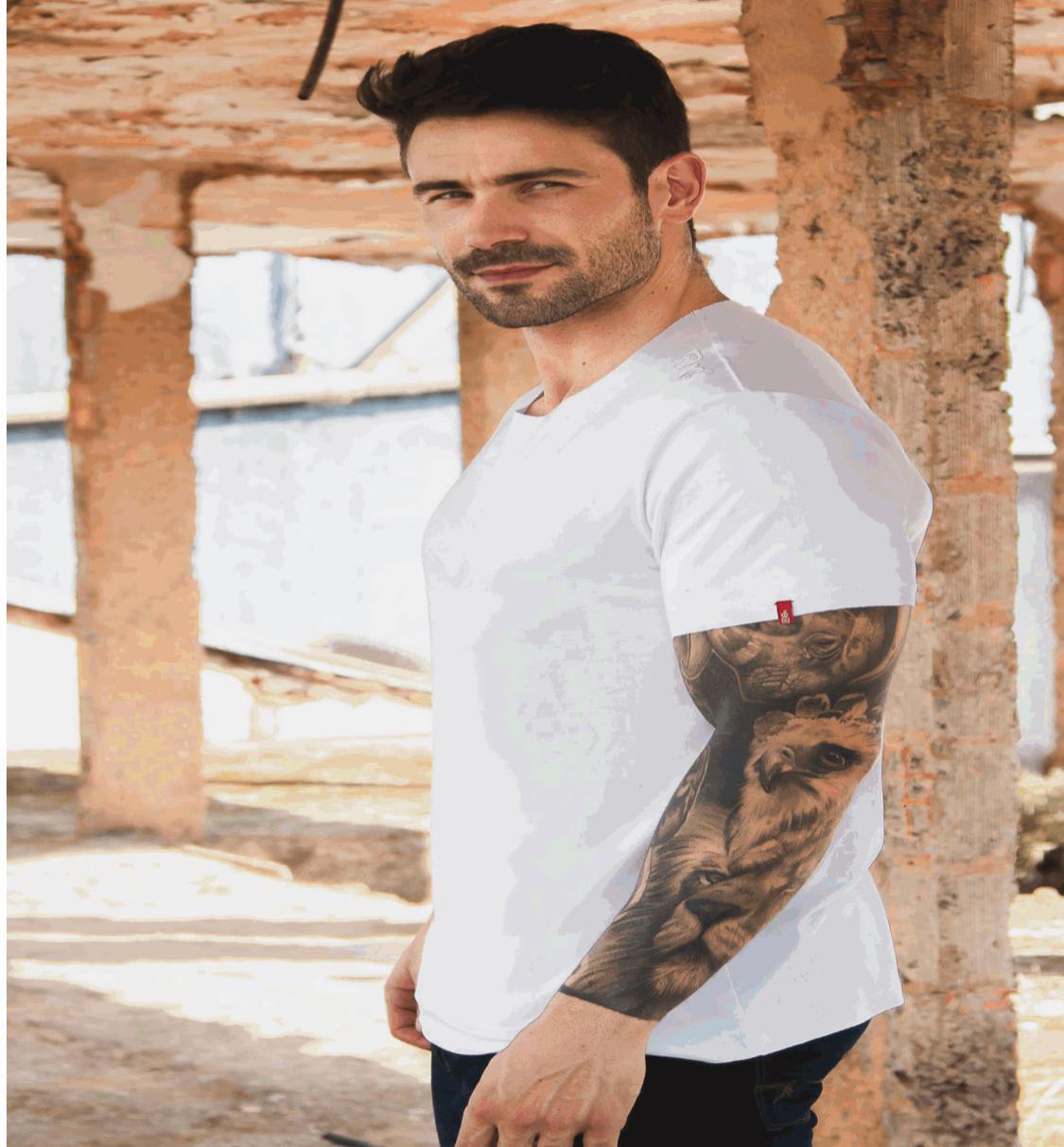 Camiseta Masculina Txc Algodão Lisa - Branco