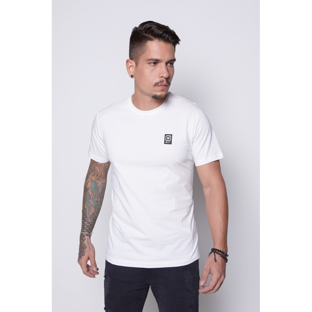 Camiseta Masculina Txc Algodão Lisa - Off