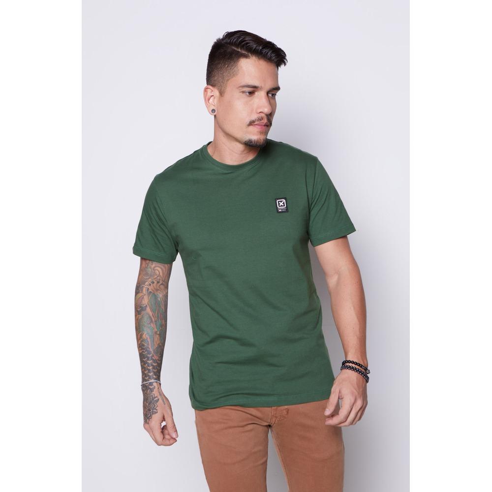 Camiseta Masculina Txc Algodão Lisa - Verde