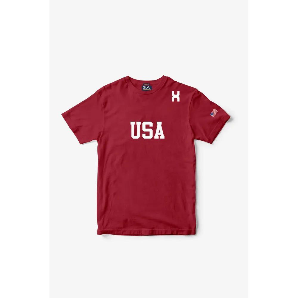 Camiseta Masculina Txc Algodão Lisa - Vermelha