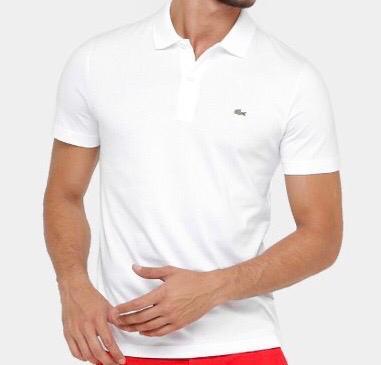Camiseta Polo Lacoste Branca