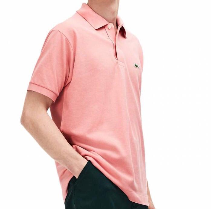 Camiseta Polo Lacoste Rosa