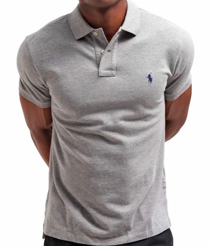 Camiseta Polo Ralph Lauren Cinza
